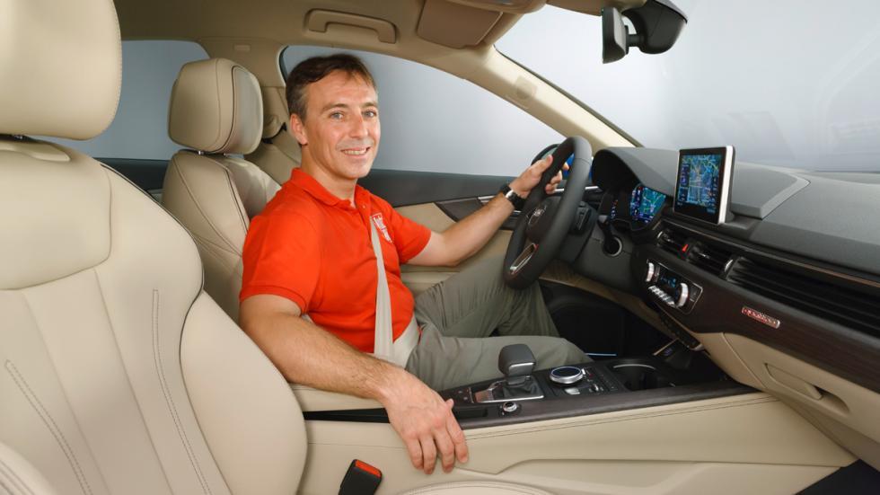 Audi A4 2015 interior con autobild.es
