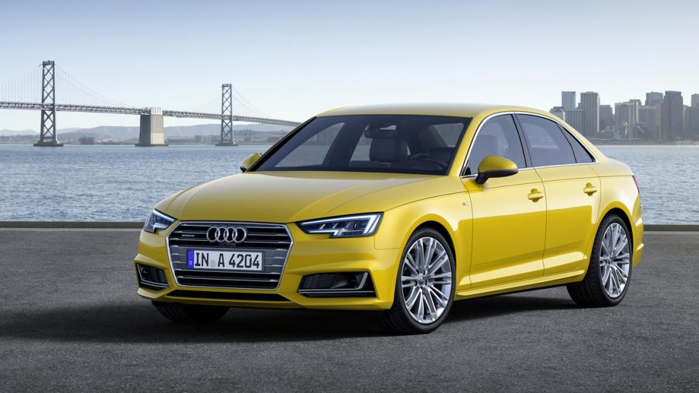 amarillo  Audi A4 2015