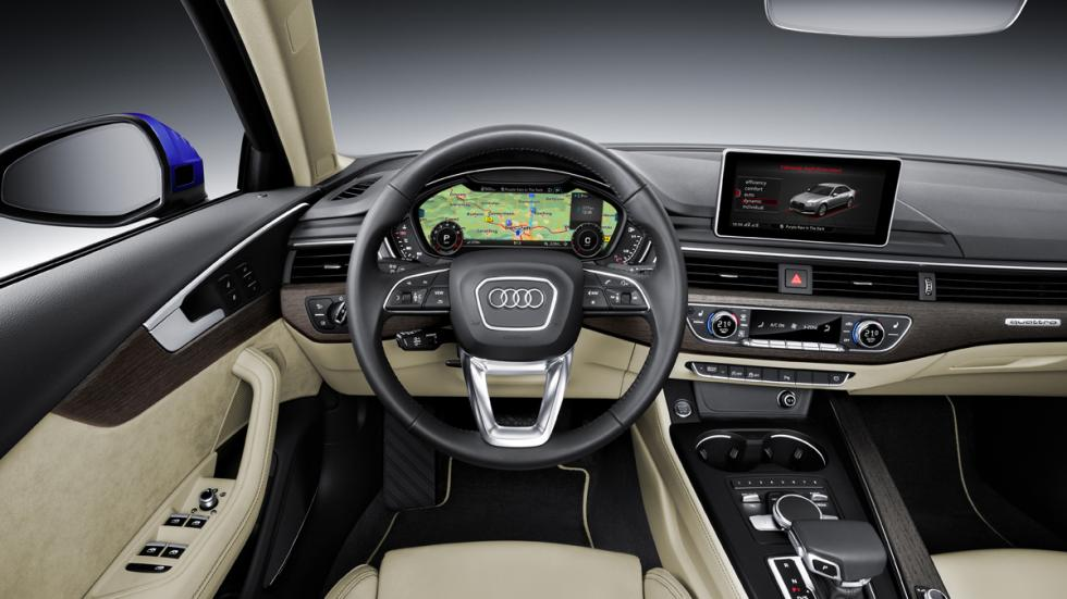 interior Audi A4 2015