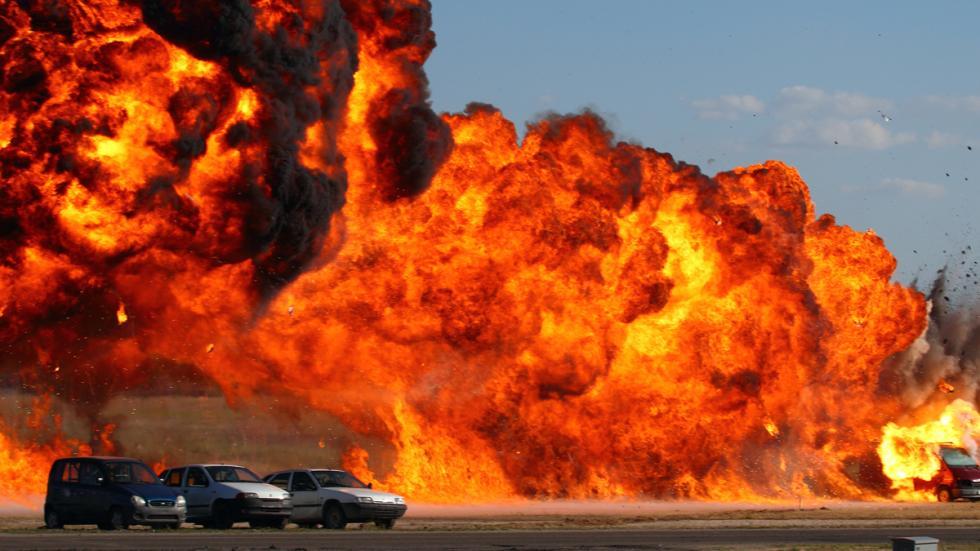 incendio de vehículos