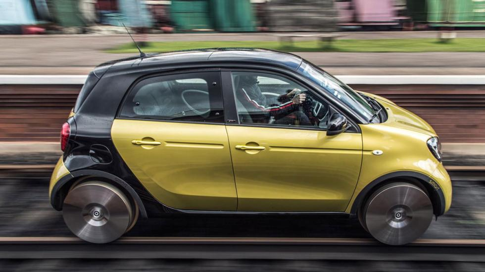 Smart Forfour tren lateral
