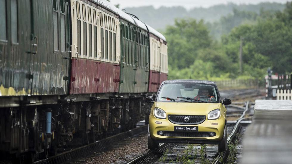 Smart Forfour tren frontal