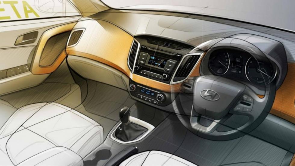 Hyundai Creta 2015 interior