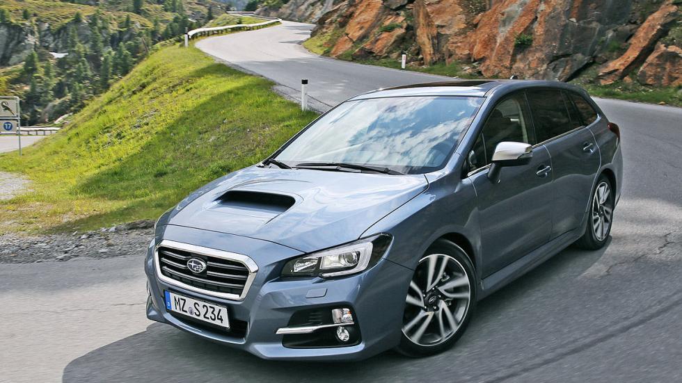 Subaru Levorg lateral parrilla