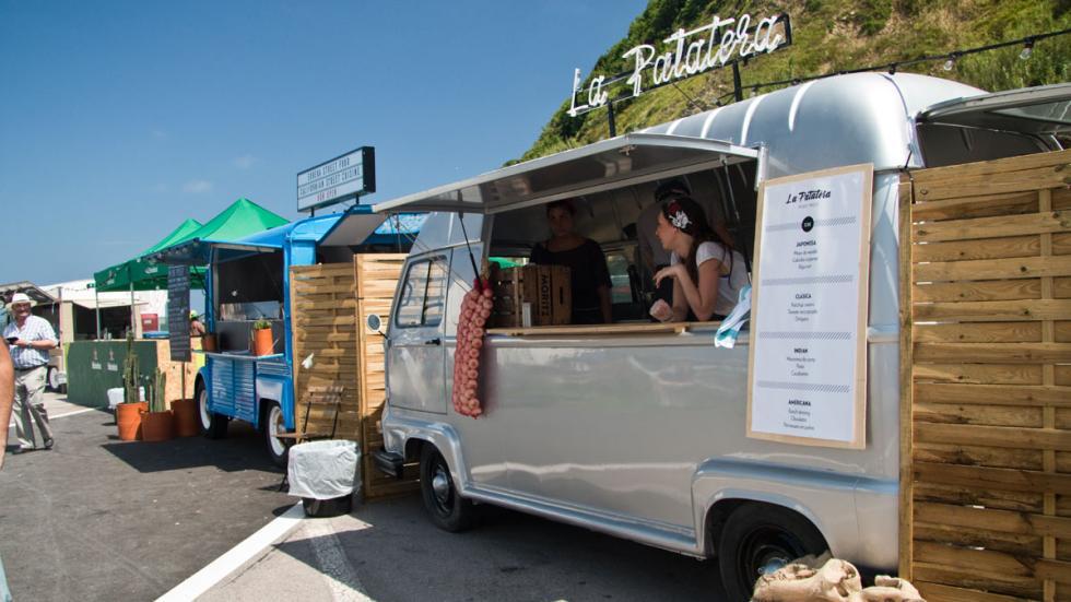 Citroën Plateselector Food Tour San Sebastian truck