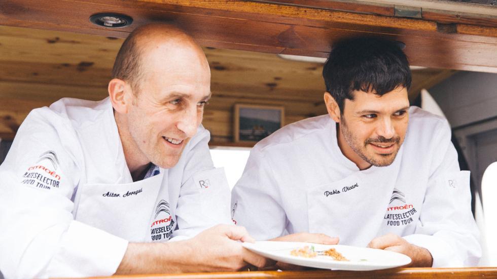 Citroën Plateselector Food Tour San Sebastian Aitor Arregi