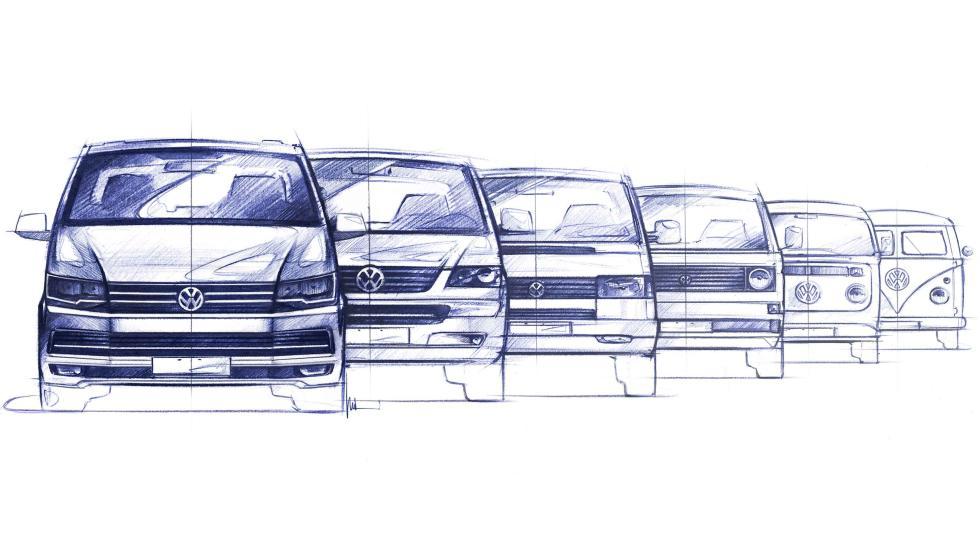 volkswagen T generaciones