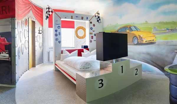 habitación podio hotel V8