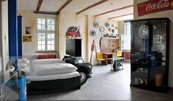 habitación taller hotel V8