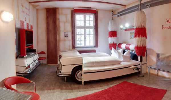 habitación túnel de lavado hotel V8