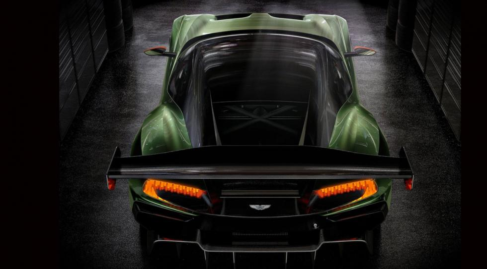 Aston Martin Vulcan techo