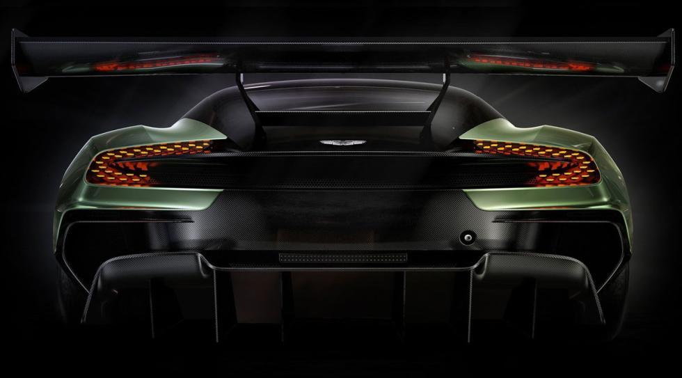 Aston Martin Vulcan peso