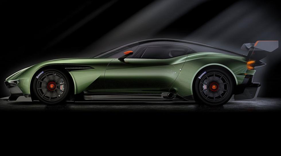Aston Martin Vulcan perfil