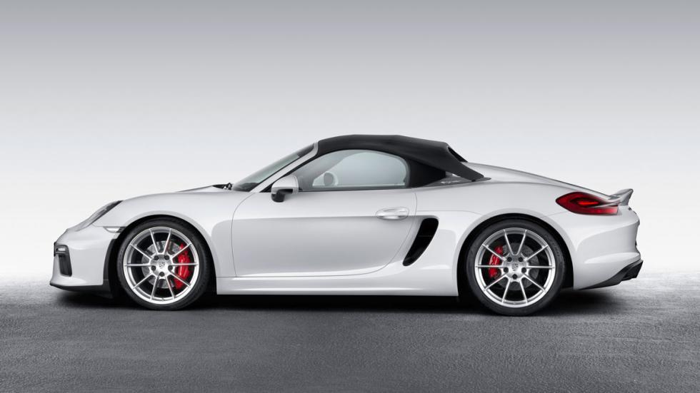 Porsche Boxster Spyder 2015 lateral