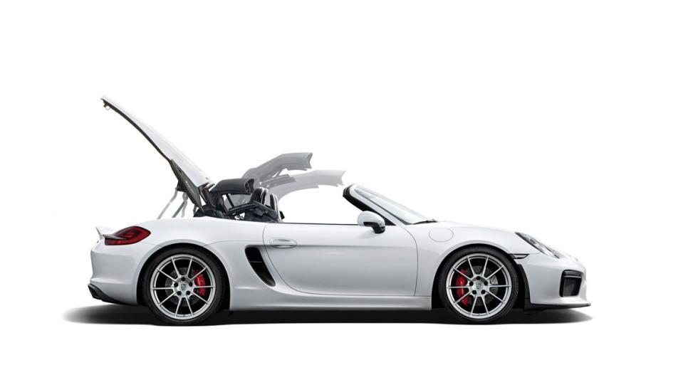 Porsche Boxster Spyder 2015 capota