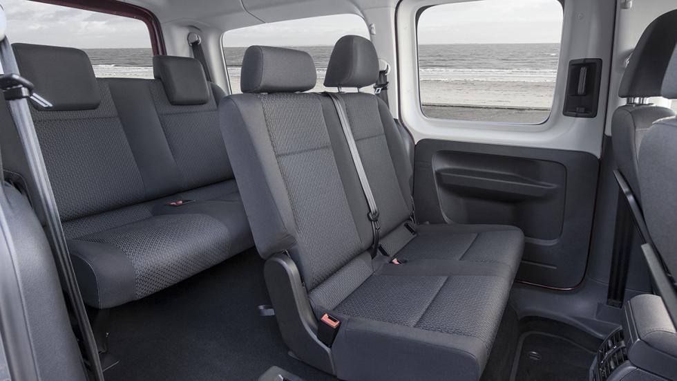 Volkswagen Caddy 2015 versatilidad