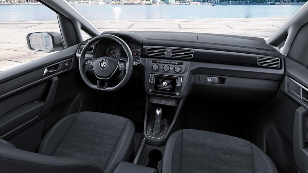 Volkswagen Caddy 2015 interior