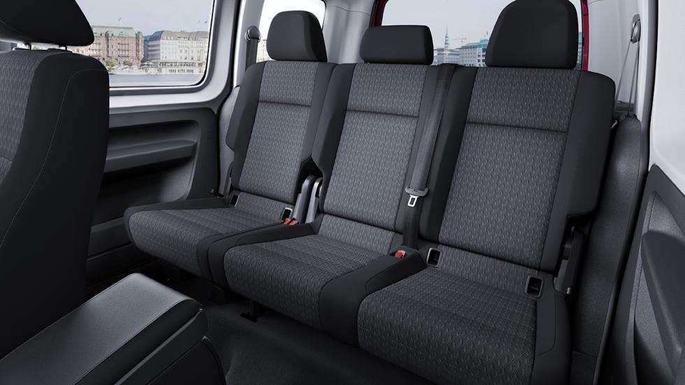 Volkswagen Caddy 2015 segunda fila de asientos