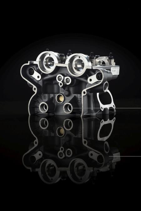 Ducati Multistrada 1200 : sistema de admisión variable