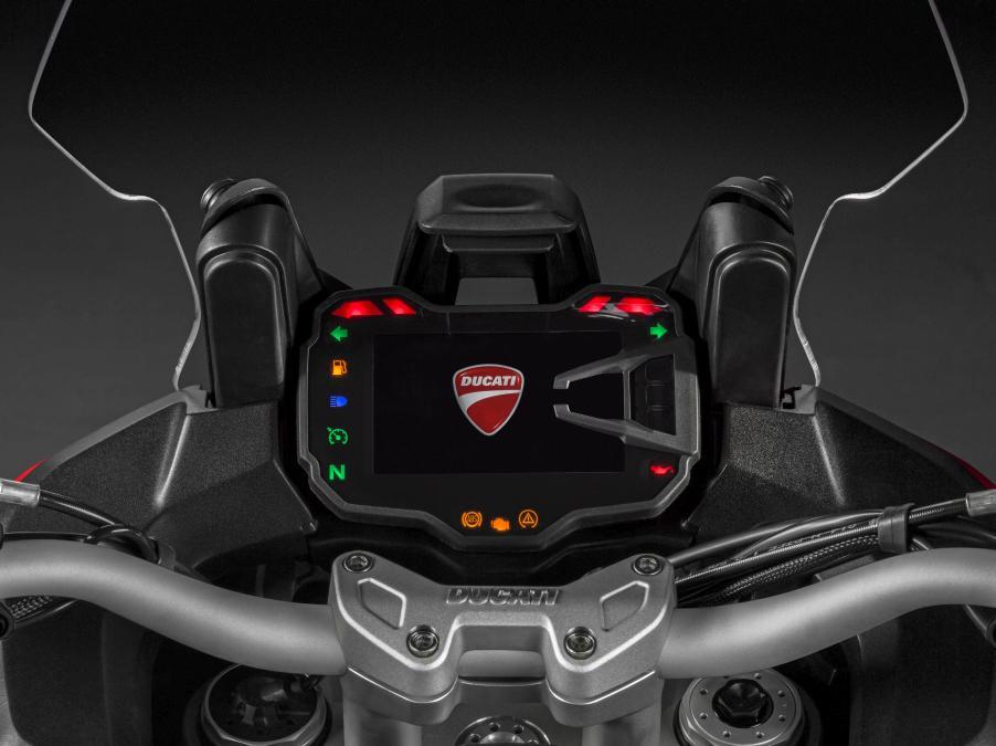 Ducati Multistrada 1200 : cuadro con pantalla a color