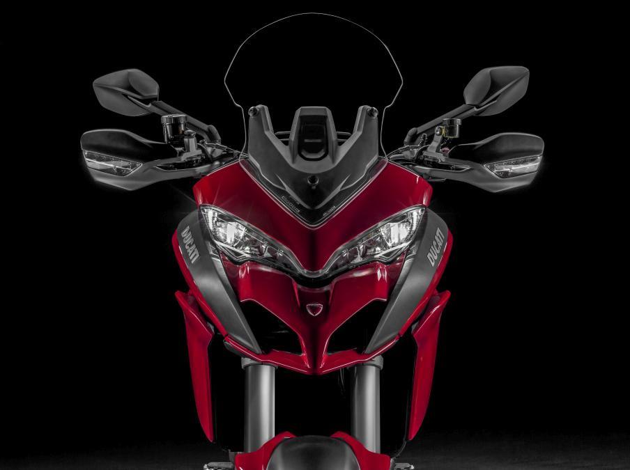Ducati Multistrada 1200 : frontal más ancho y pantalla regulable