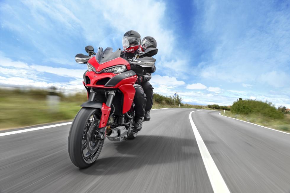 Ducati Multistrada 1200 : viajando