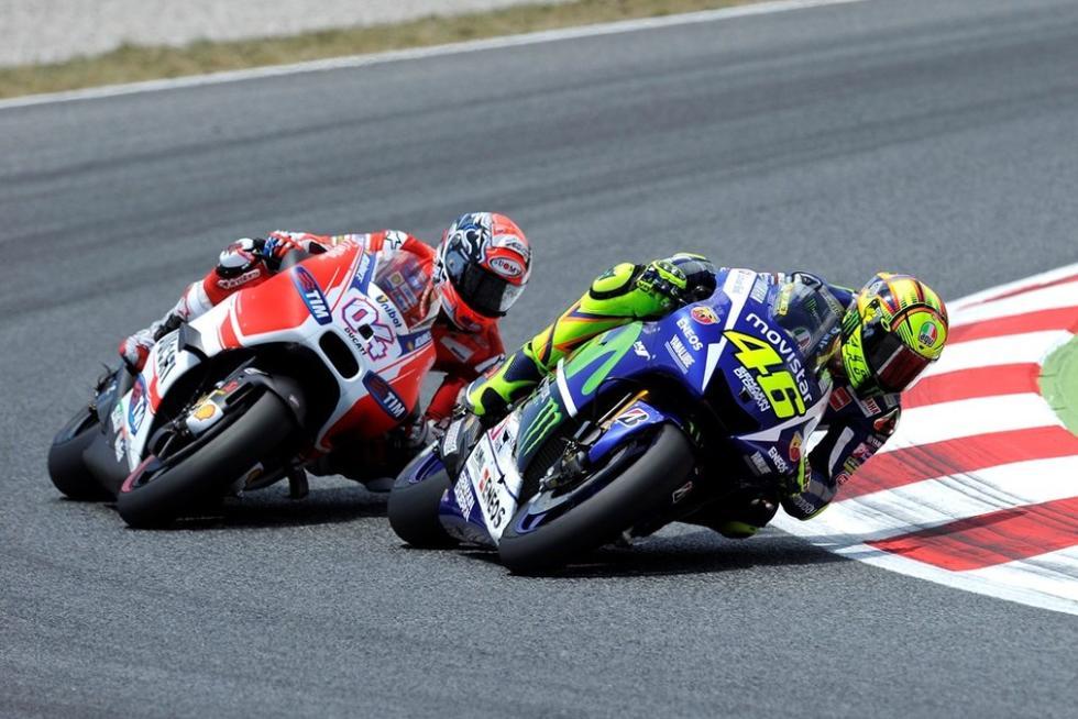 Rossi en la lucha