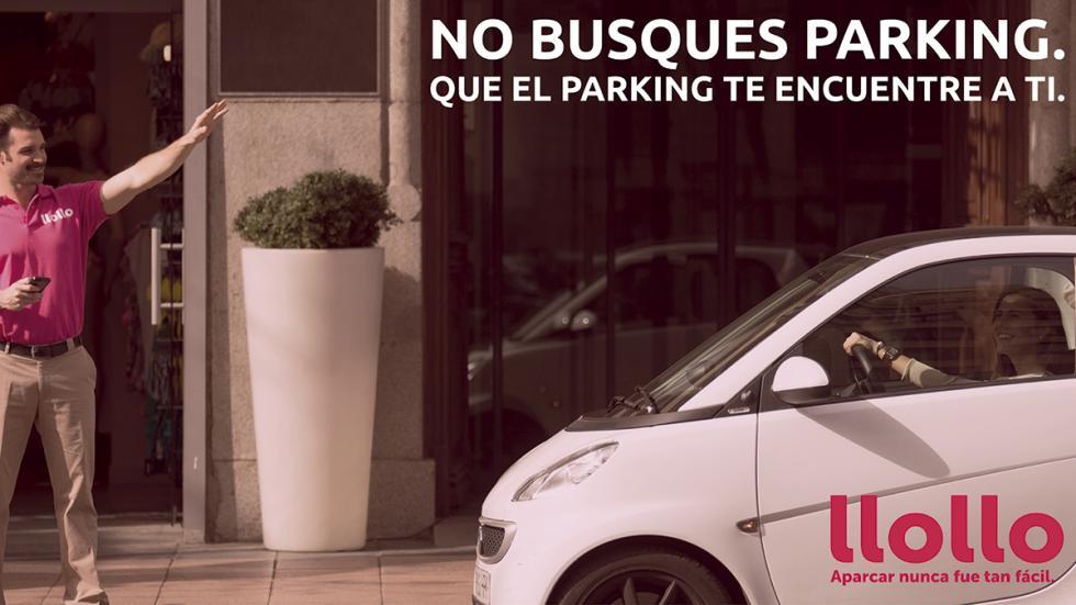 Valets aplicación de aparcamiento Madrid llollo
