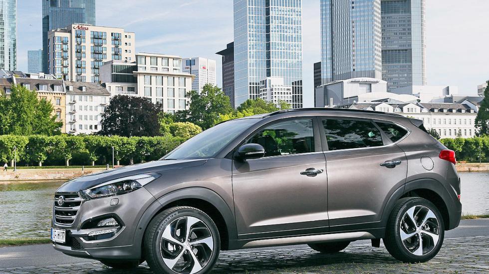 Prueba Hyundai Tucson 2015 lateral