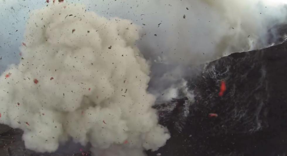 El volcán Yasur