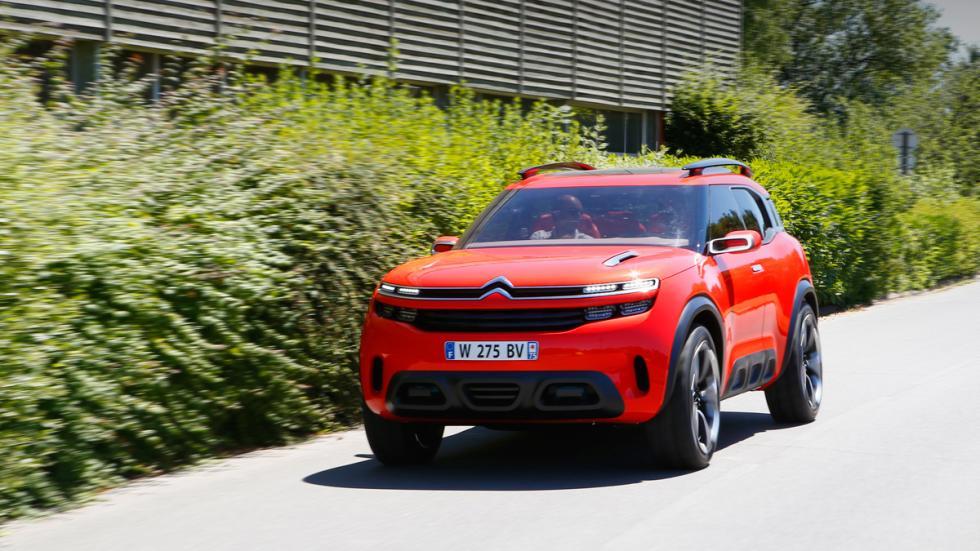 Citroën Aircross delantera