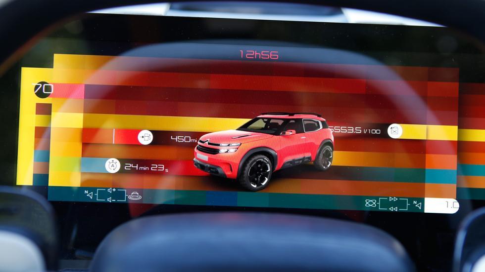 Citroën Aircross pantalla