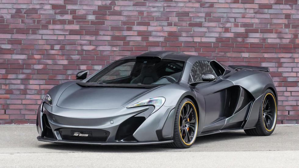 McLaren 650S FAB Design frontal
