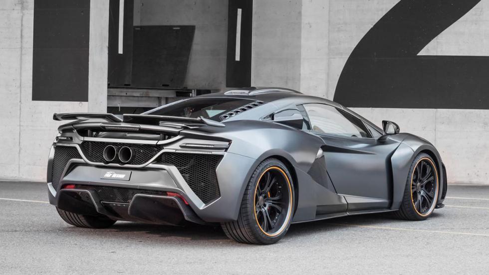 McLaren 650S FAB Design trasera