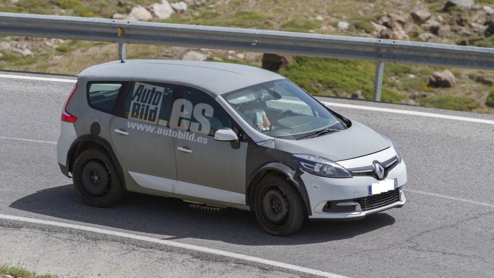 Renault Grand Scenic 2017: fotos espía