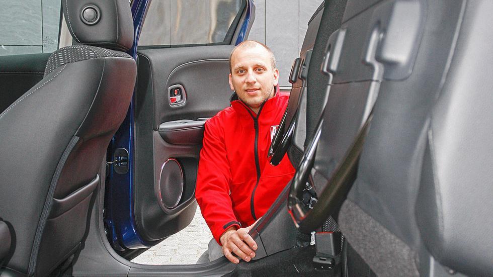 Prueba: Honda HR-V abatidos