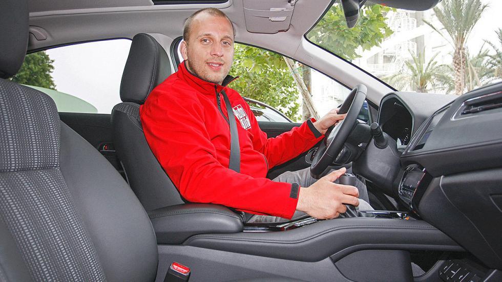 Prueba: Honda HR-V interior