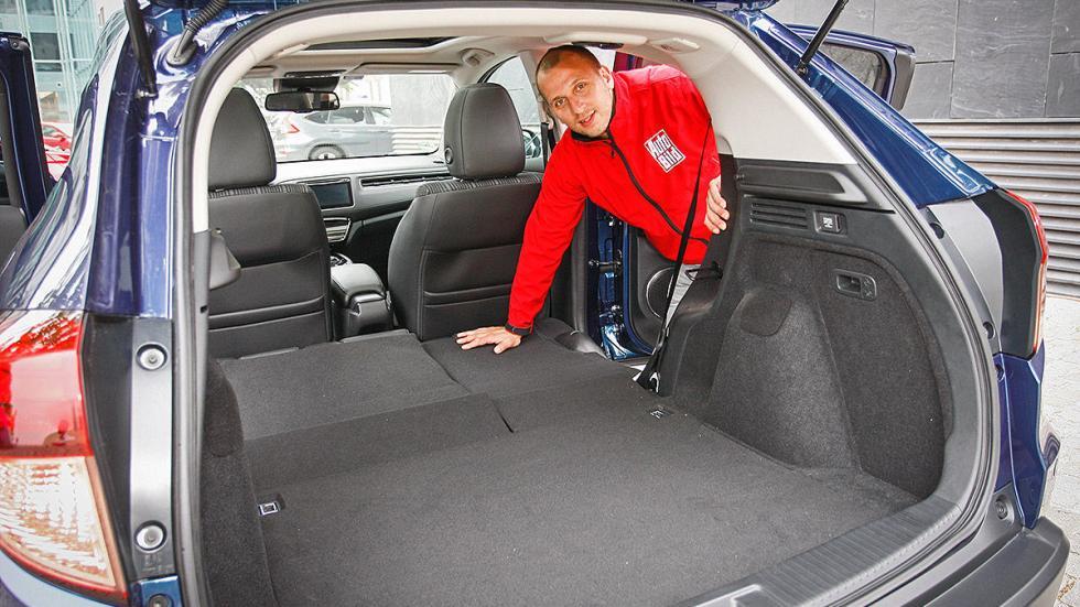 Prueba: Honda HR-V interior maletero