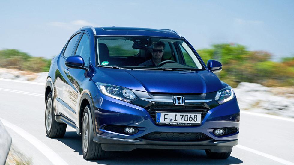 Prueba: Honda HR-V interior dinámica