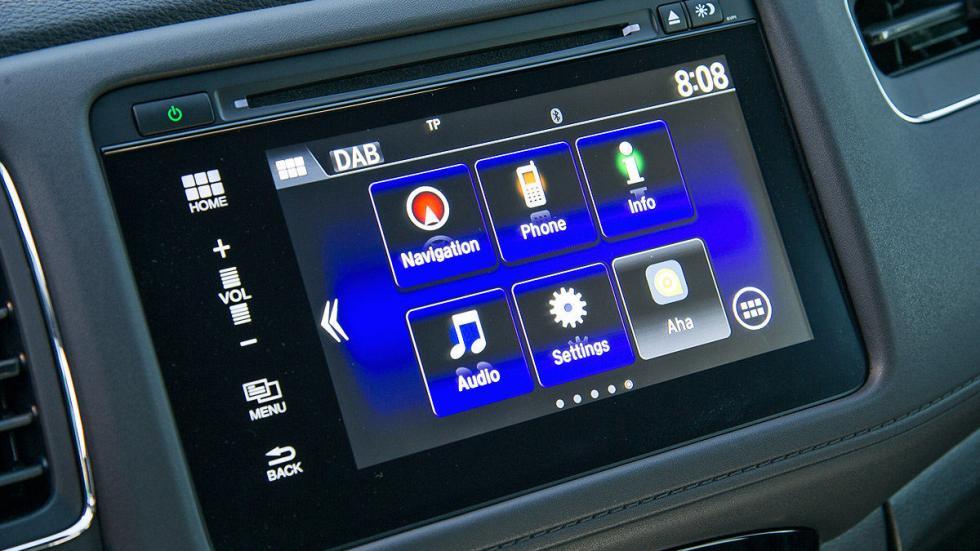 Prueba: Honda HR-V interior pantalla