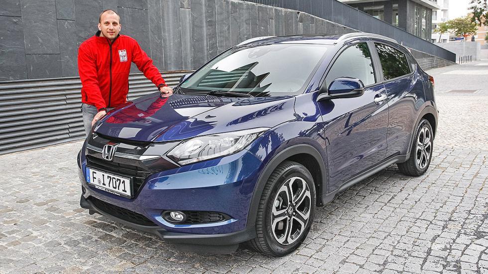 Prueba: Honda HR-V interior redactor