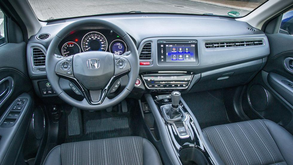 Prueba: Honda HR-V interior salpicaderio