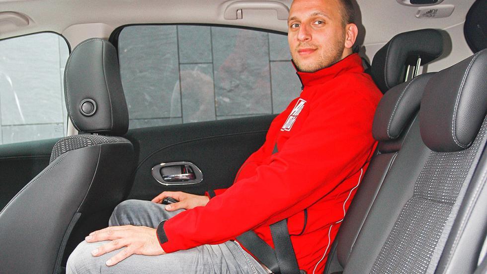 Prueba: Honda HR-V interior traseras
