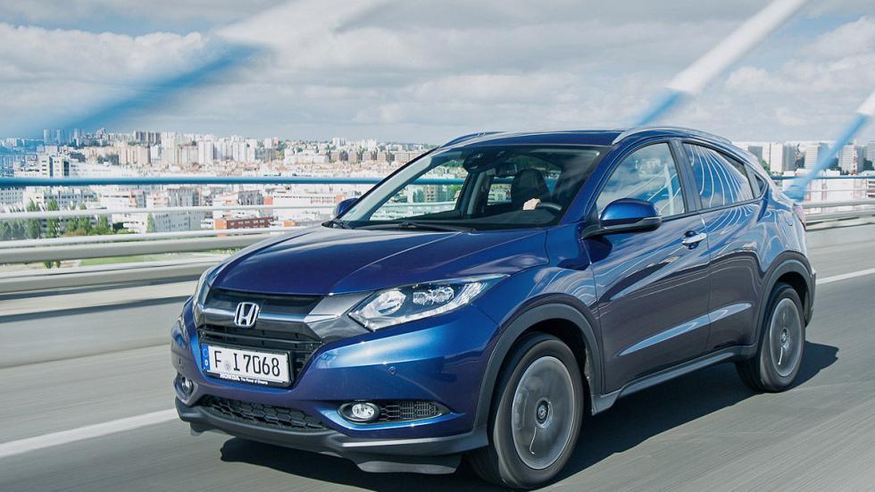 Prueba: Honda HR-V interior morro