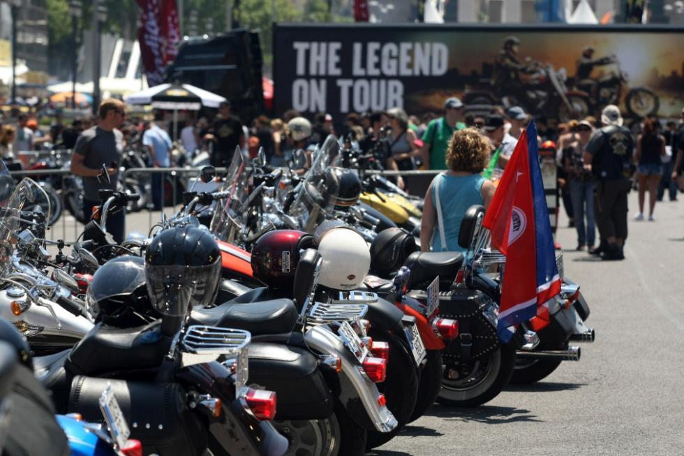 Barcelona Harley Days 2015, exhibición
