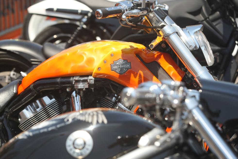 Barcelona Harley Days 2015, customización