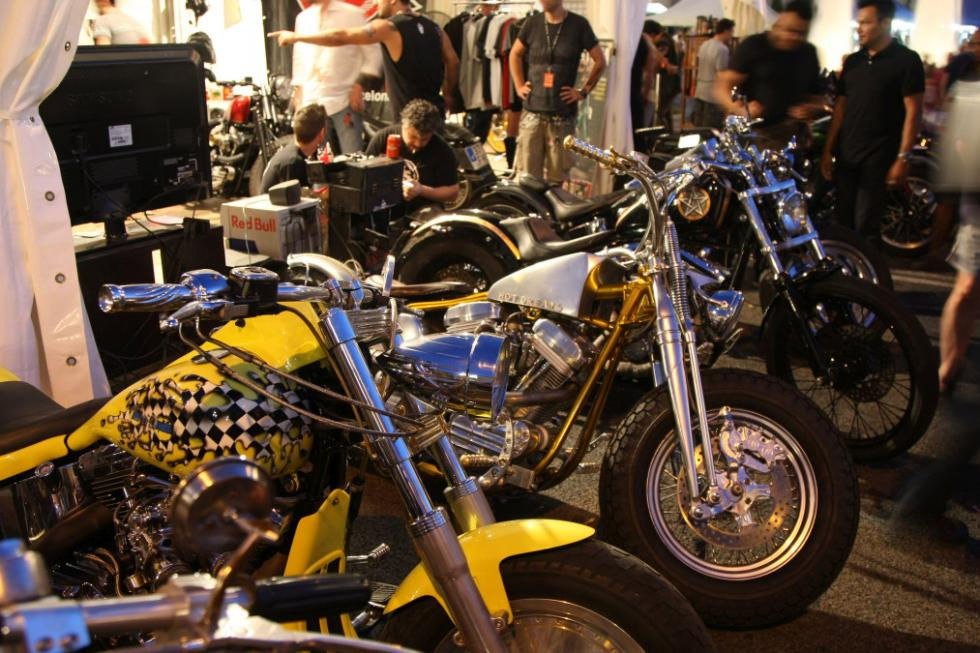 Barcelona Harley Days 2015, motos customizadas