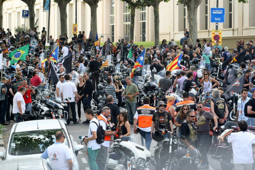 Barcelona Harley Days 2015, multitudinario