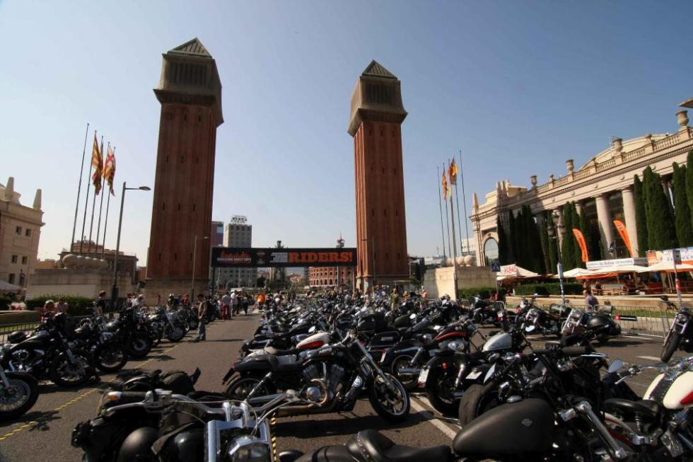 Barcelona Harley Days 2015, entrada a la zona