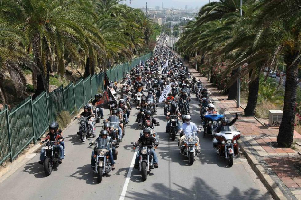 Barcelona Harley Days 2015, desfile del domingo